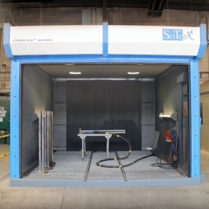 Sciteex Blast And Paint Rooms At Fluorocarbon