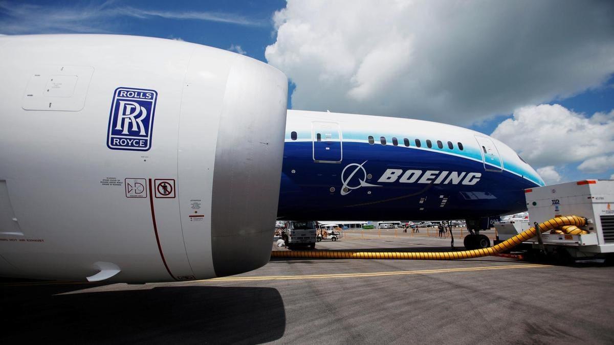 787 rr engine Aerospace Metallisation Ltd