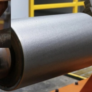 Laser Cladding For Continous Caster Rolls