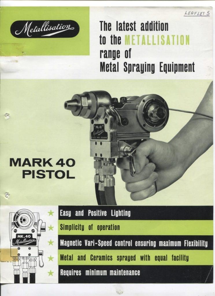 Leaflet 5 Mark 40 Pistoll