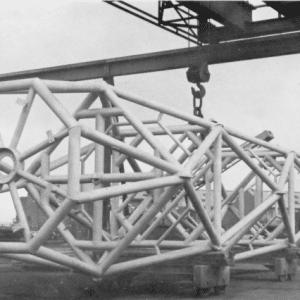Radio mast Metallisation