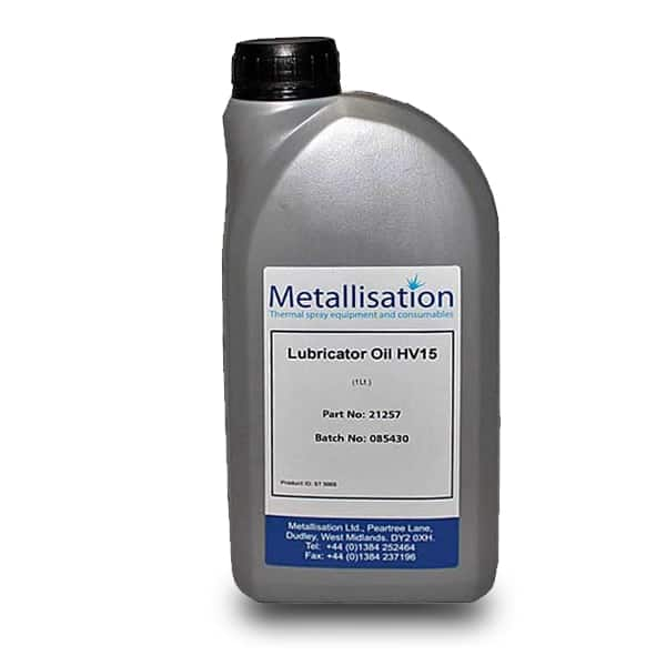 21257 Lubricator Oil 1Lt web  Metallisation Ltd