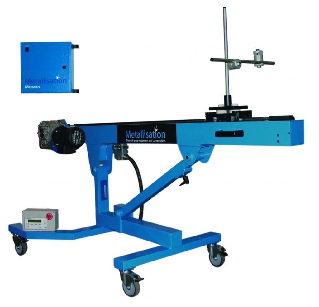 Metscan1200 Metallisation Ltd