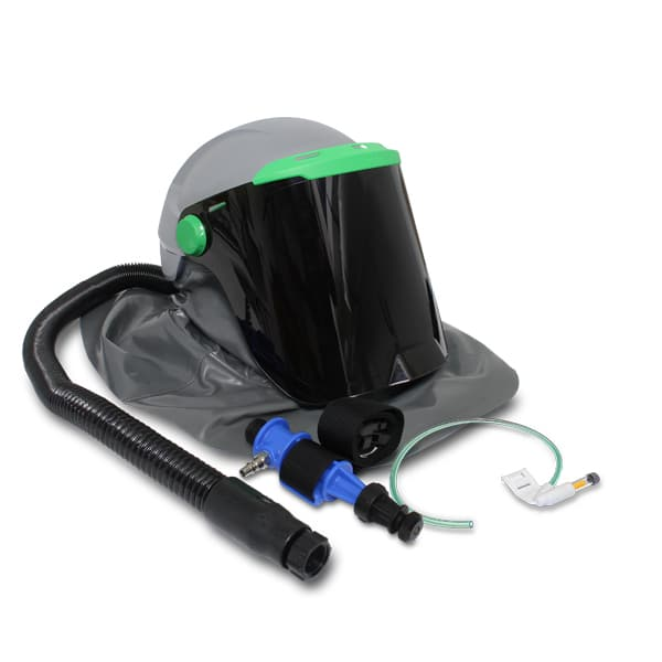 HELMET RPB A Flip Up Shade 5 Visor Down Helmet RPB Metallisation Ltd