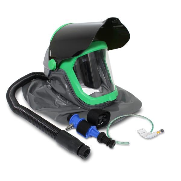 HELMET RPB A Flip Up Shade 5 Visor Up Helmet RPB Metallisation Ltd